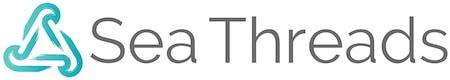 Sea Threads logo and wordmark